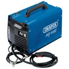 120A 230V GAS/GASLESS TURBO MIG WELDER
