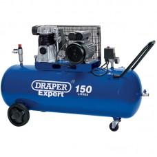 DRAPER 22463 EXPERT 150L 230V 3.0HP (2.2KW) BELT-DRIVEN AIR COMPRESSOR