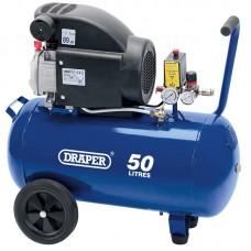 DRAPER 24981 50L 230V 2.0HP (1.5KW) AIR COMPRESSOR