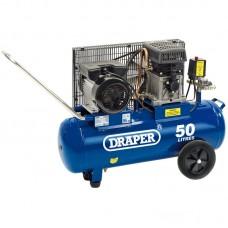 DRAPER 31253 50L 230V 3.0HP (2.2KW) BELT-DRIVEN AIR COMPRESSOR