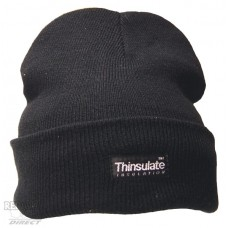 Click Workwear Black Thinsulate Beanie Hat