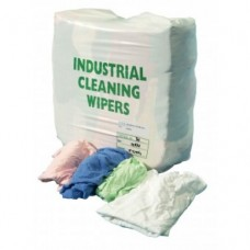 Industrial Wiping Rags 10 kg Colored T-Shirts