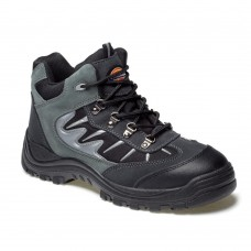 Dickies Storm Safety Work Boot Black Grey Steel Toecap Midsole FA23385A
