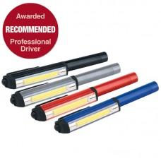 DRAPER 3W COB LED WORKLIGHT (3 X AAA BATTERIES)
