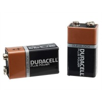 XMS17BATT9V Duracell 9v Cell Plus Power Battery, Pack of 2